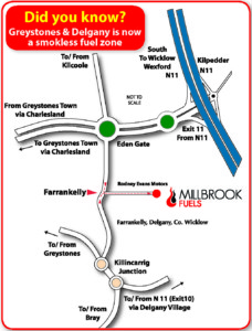 Millbrook Fuels Map