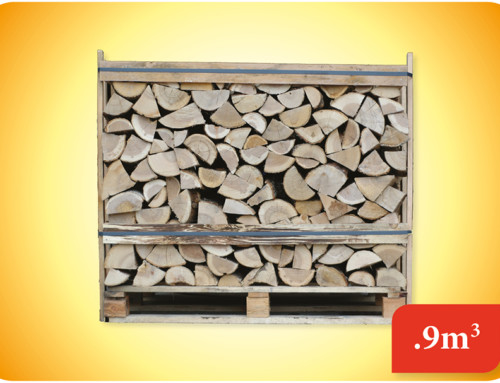 Kiln Dried Logs 0.9m Crate